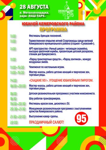 Юбилей Кемеровского района