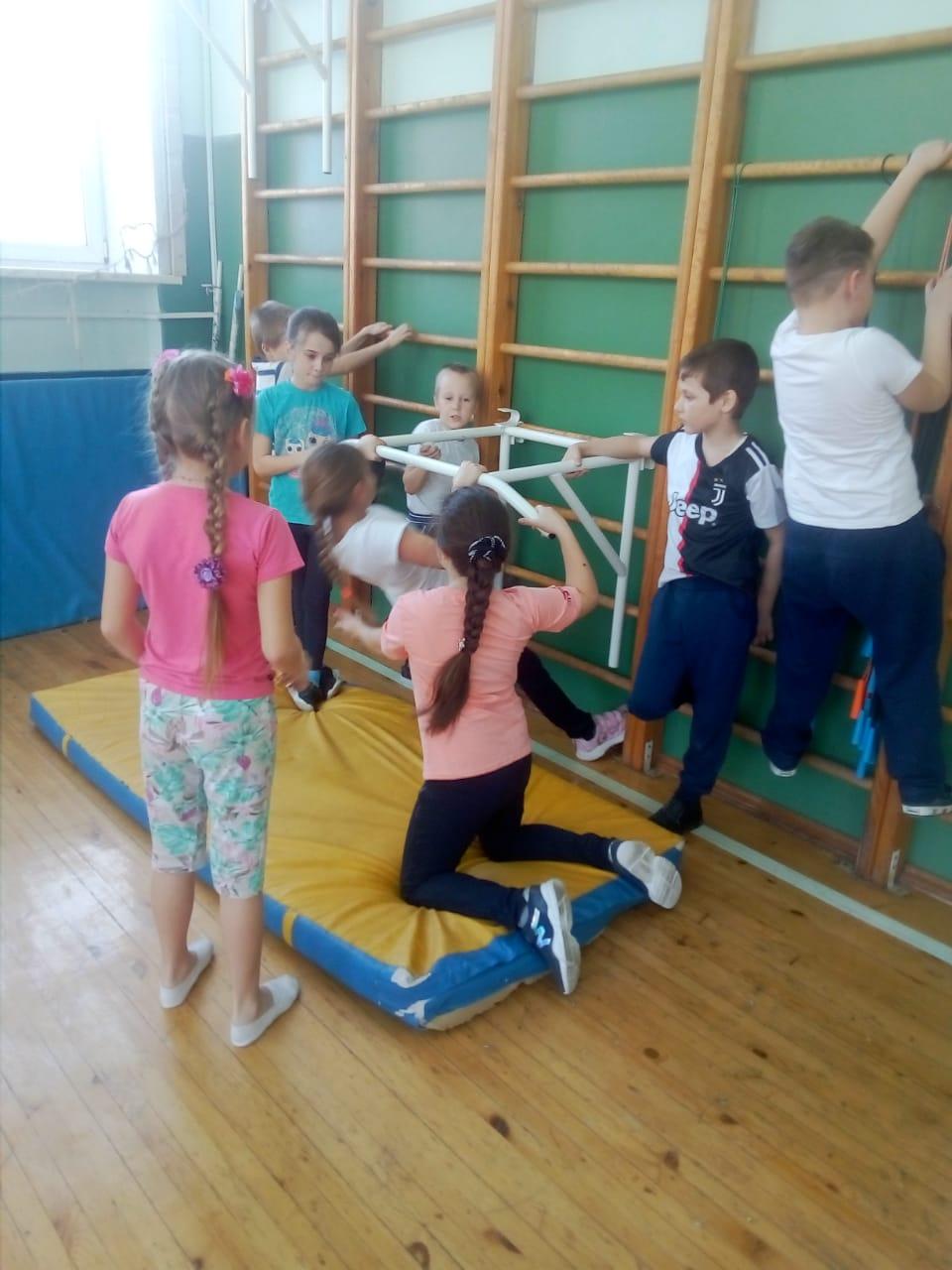 Школьники приступили к выполнению нормативов ГТО