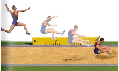 Прыжки в длину с разбега