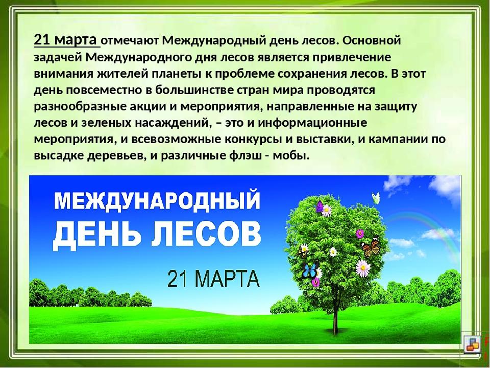 Международный день лесов