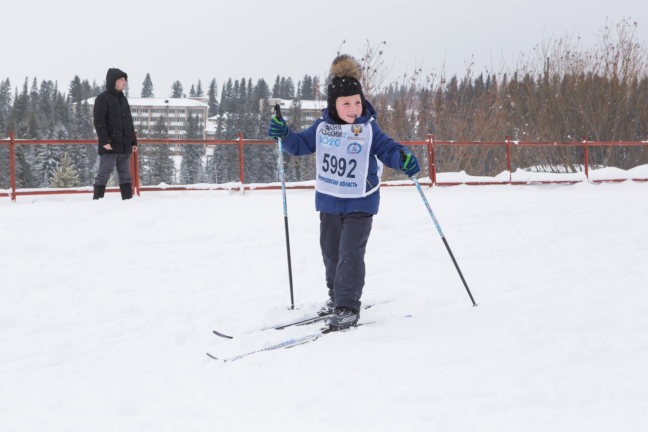 В д. Тебеньковка состоялся муниципальный этап всероссийской гонки «Лыжня России-2020»
