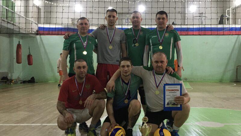 Соревнования по волейболу среди мужских команд Кемеровского муниципального округа