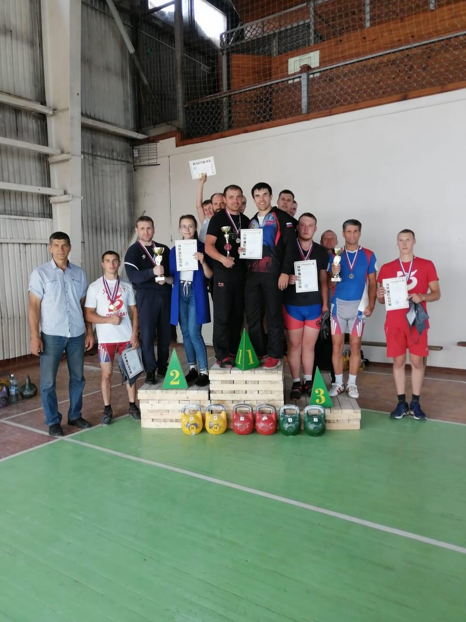 Гиревой спорт в Новокузнецке