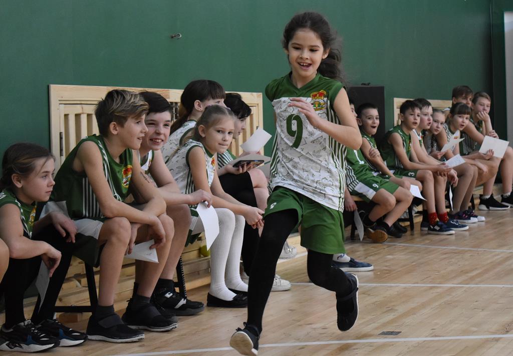 1 (школьный) этап Кузбасской спортивной школьной лиги