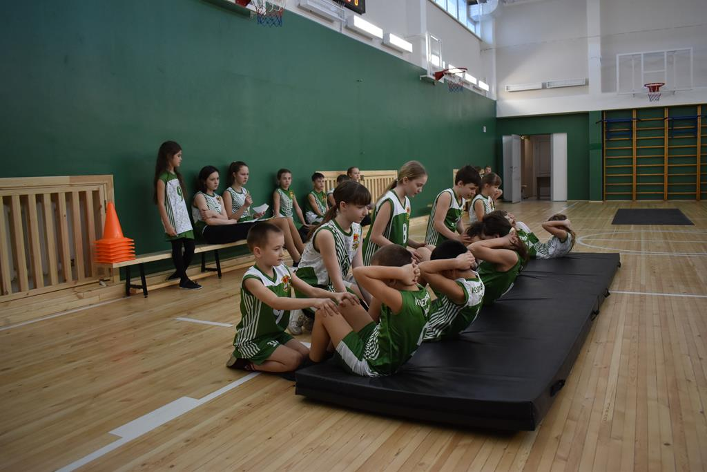 2 (муниципальный) этап Кузбасской спортивной школьной лиги по Комплексу ГТО