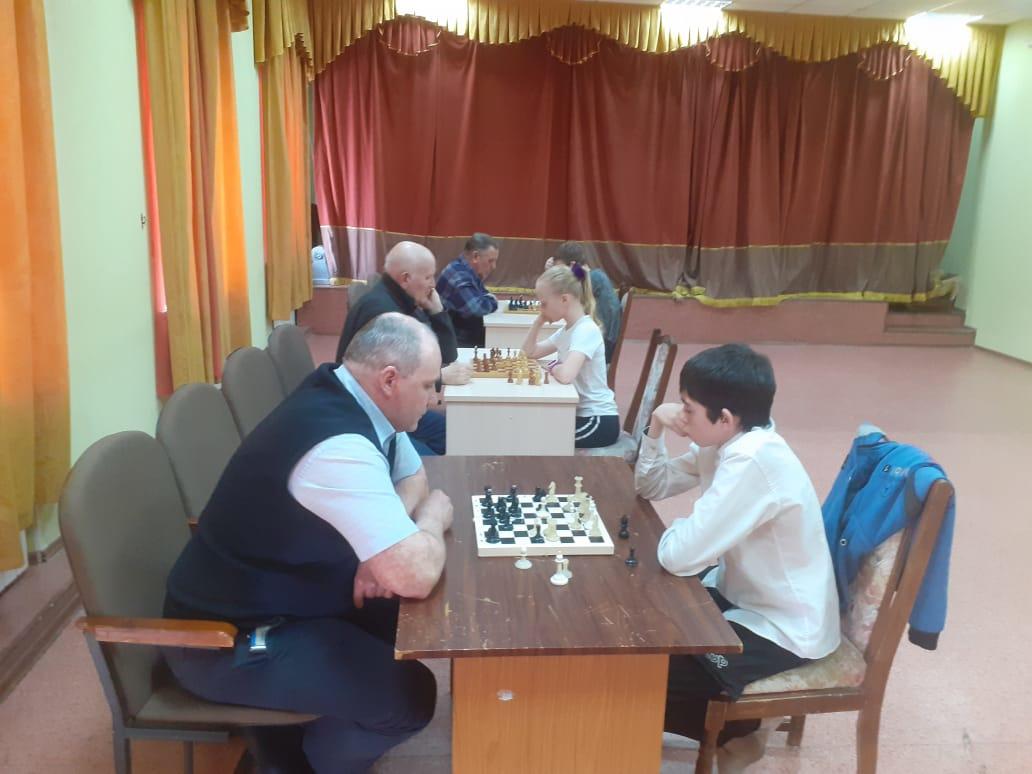 Турнир по шахматам в Мозжухе