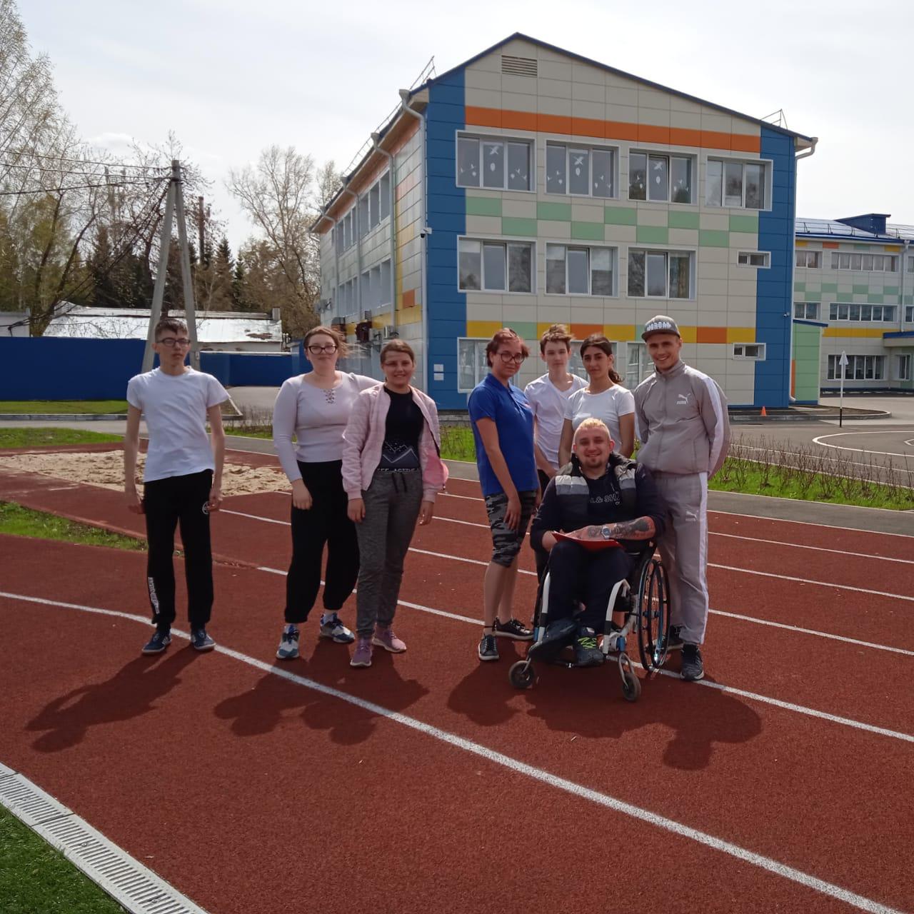 ПРИЕМ НОРМАТИВОВ комплекса ГТО в Елыкаевской школе