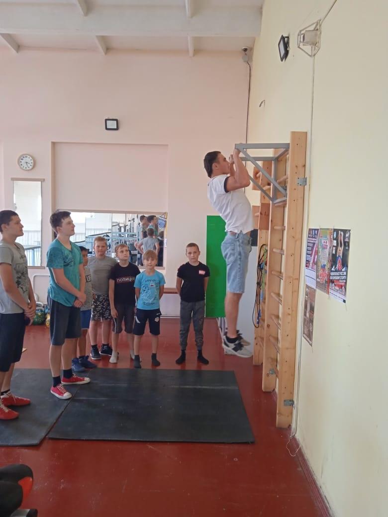 Мастер-класс в рамках «Лето с ГТО в Кузбассе!»